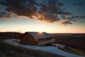 New Cabin Offers Splendid Arkansas Sunset View