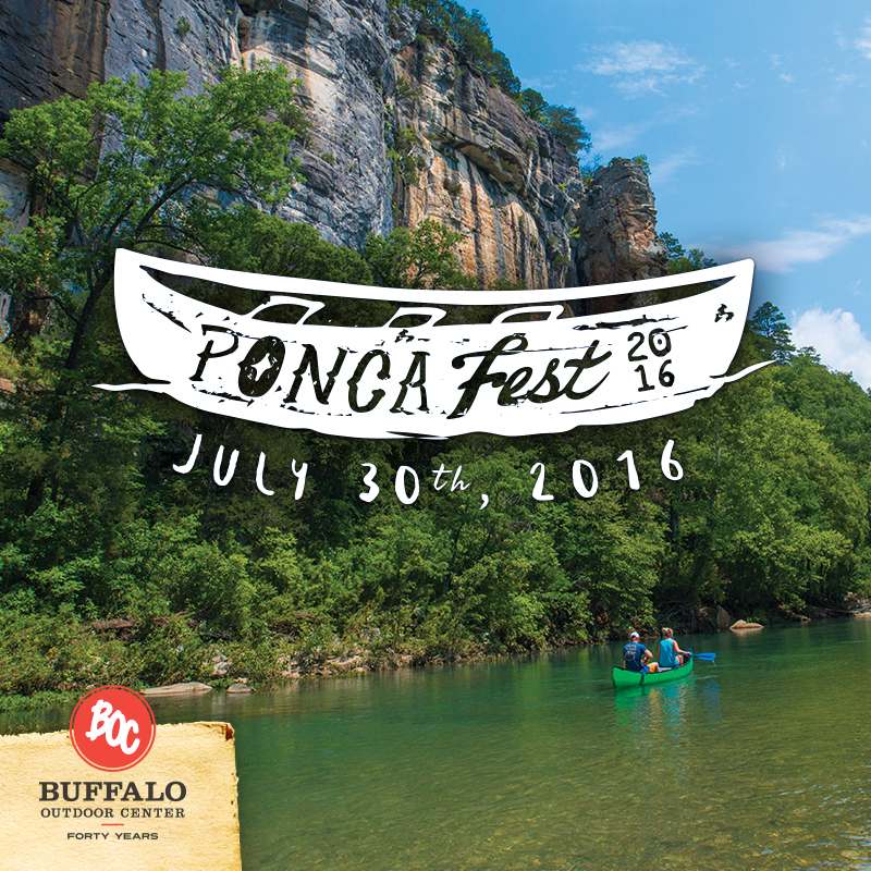 It's 2016 PoncaFest Time! | Buffalo Outdoor Center