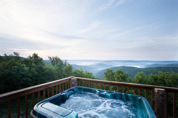 Create your escape for Cottages with sauna and hot tub