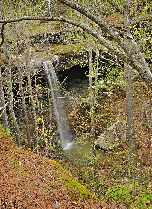 Hideout Hollow Waterfall