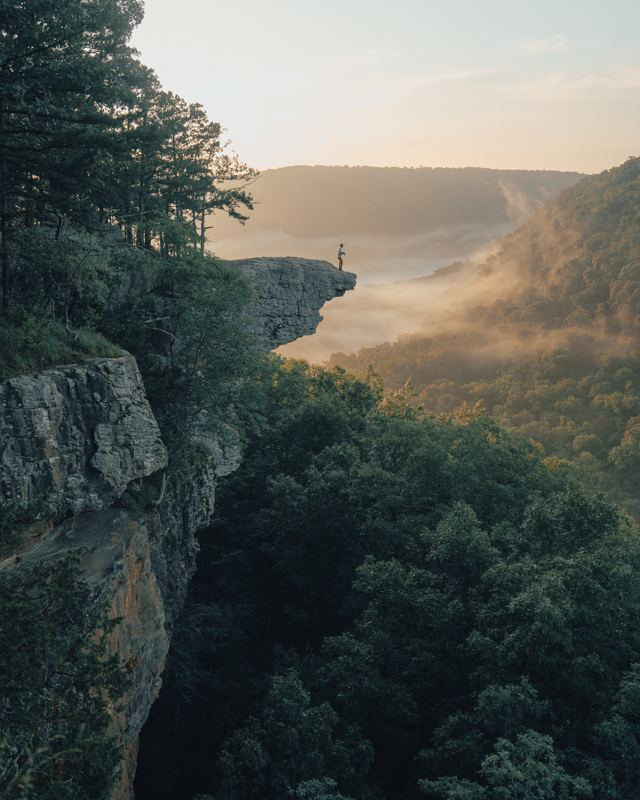 Whitaker Point Hawksbill Crag