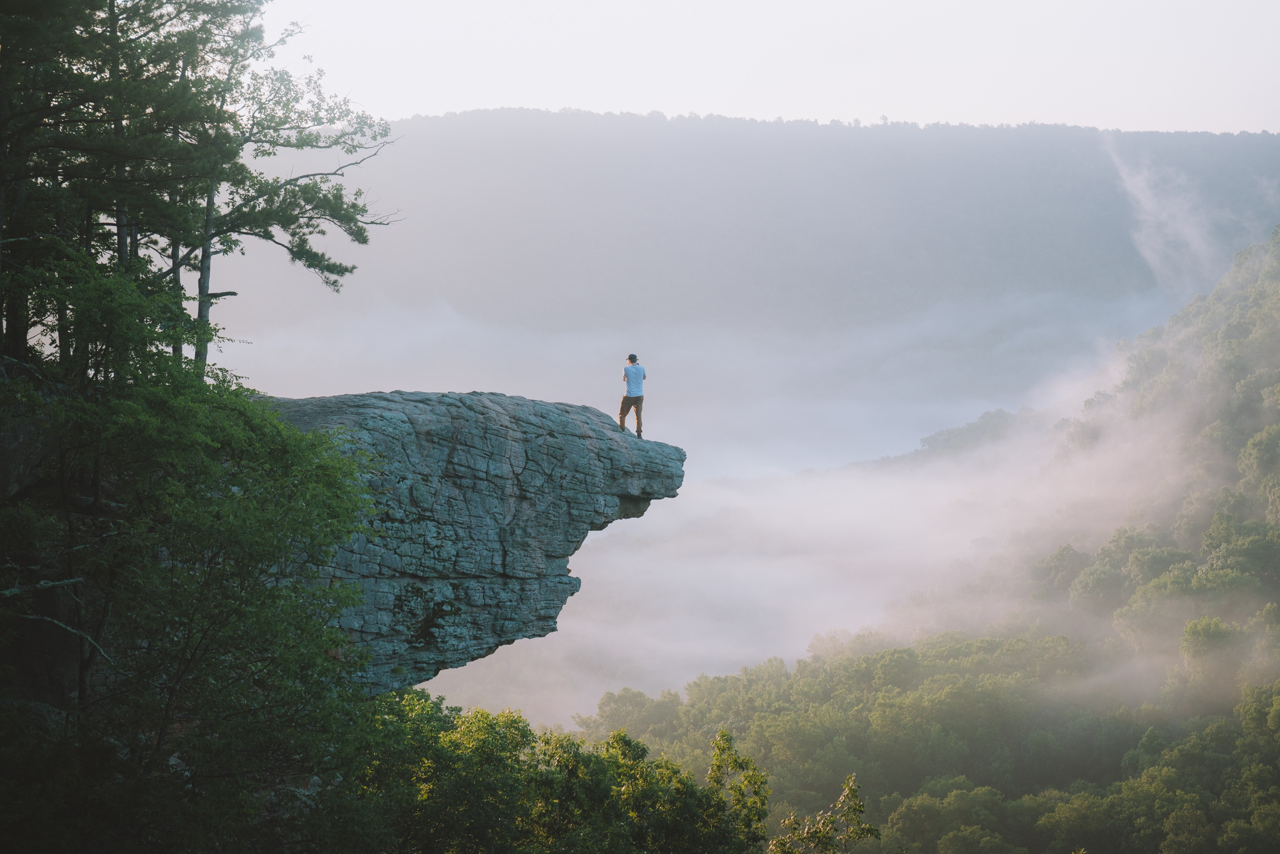 Whitaker Point (Hawksbill Crag)