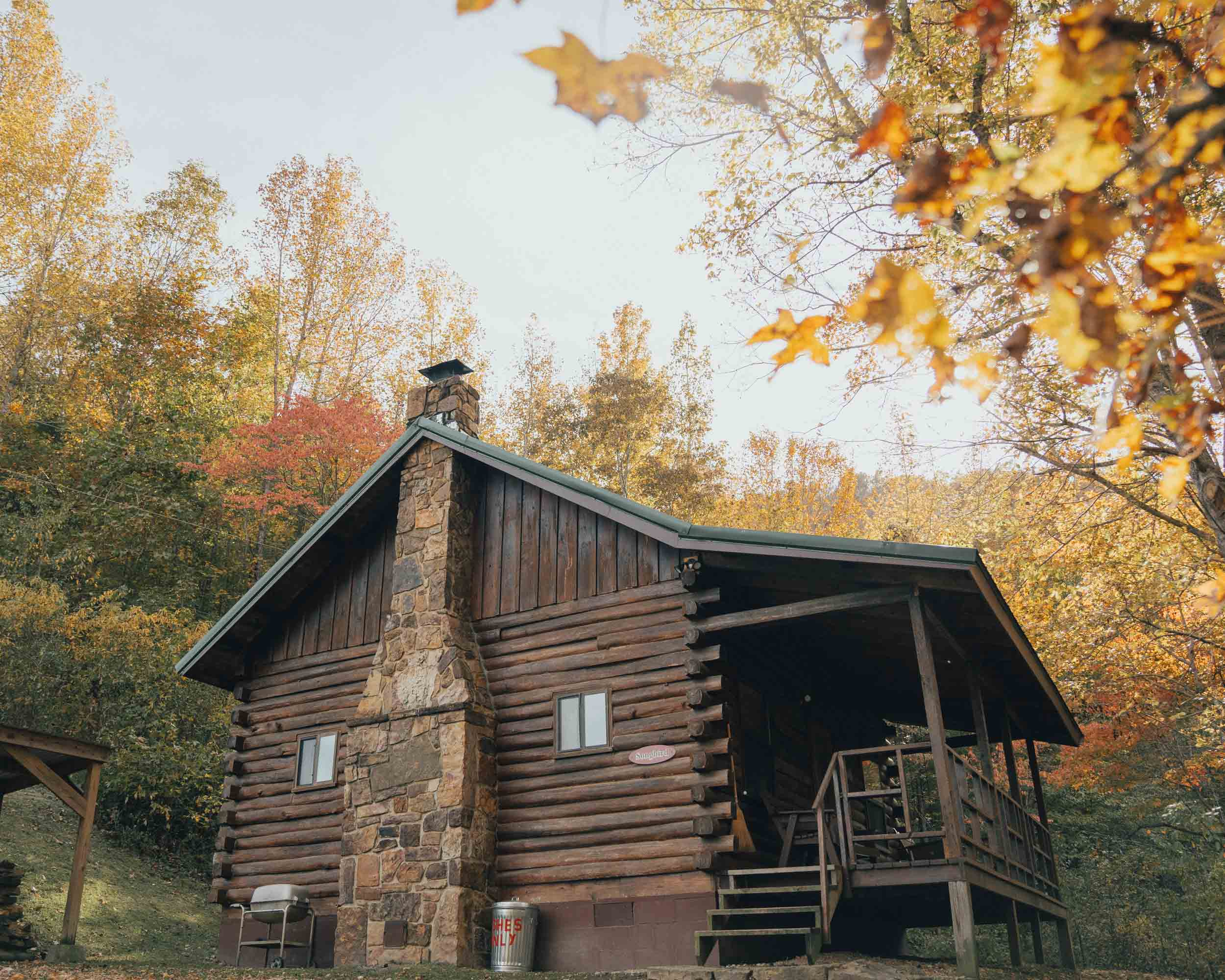 Fall Boc Cabin