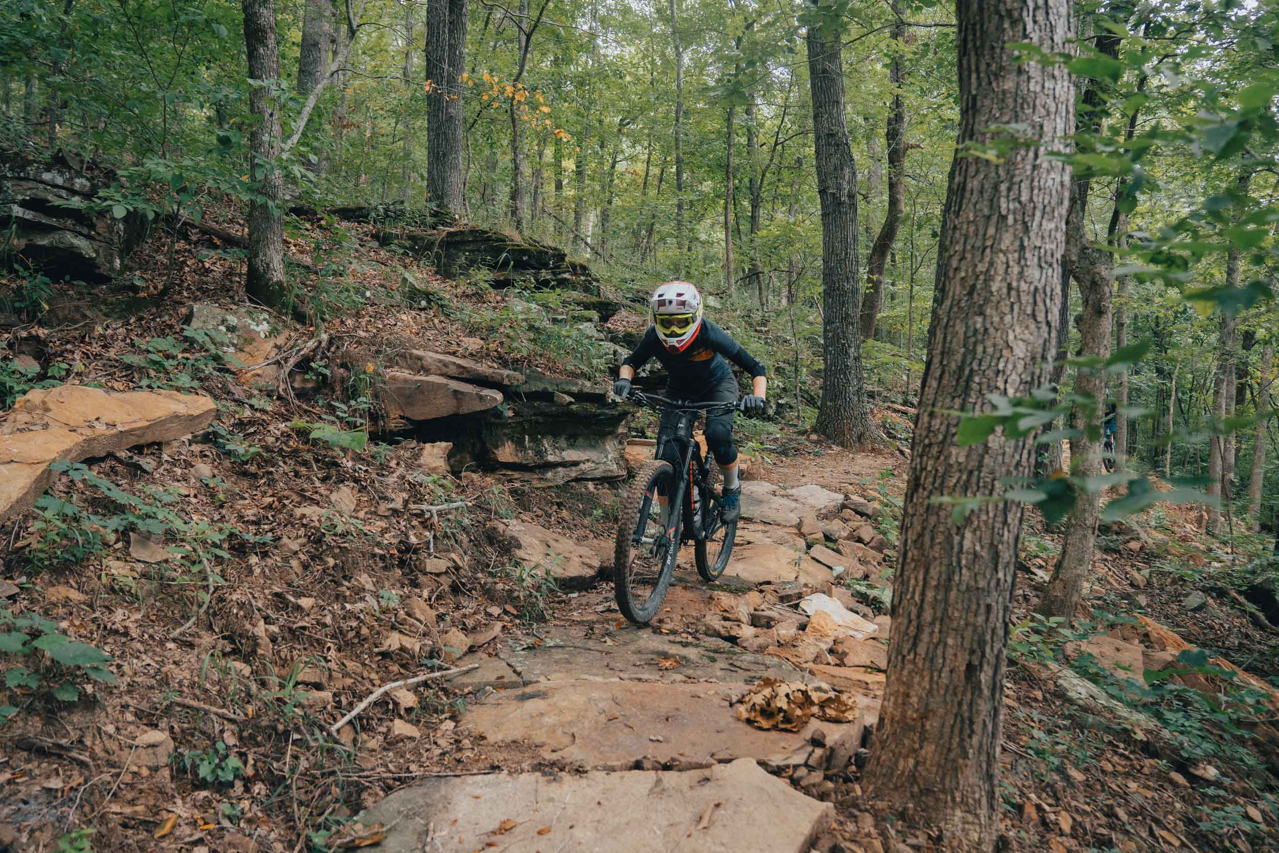 Riding the BOC Ponca Downhill MTB Trail