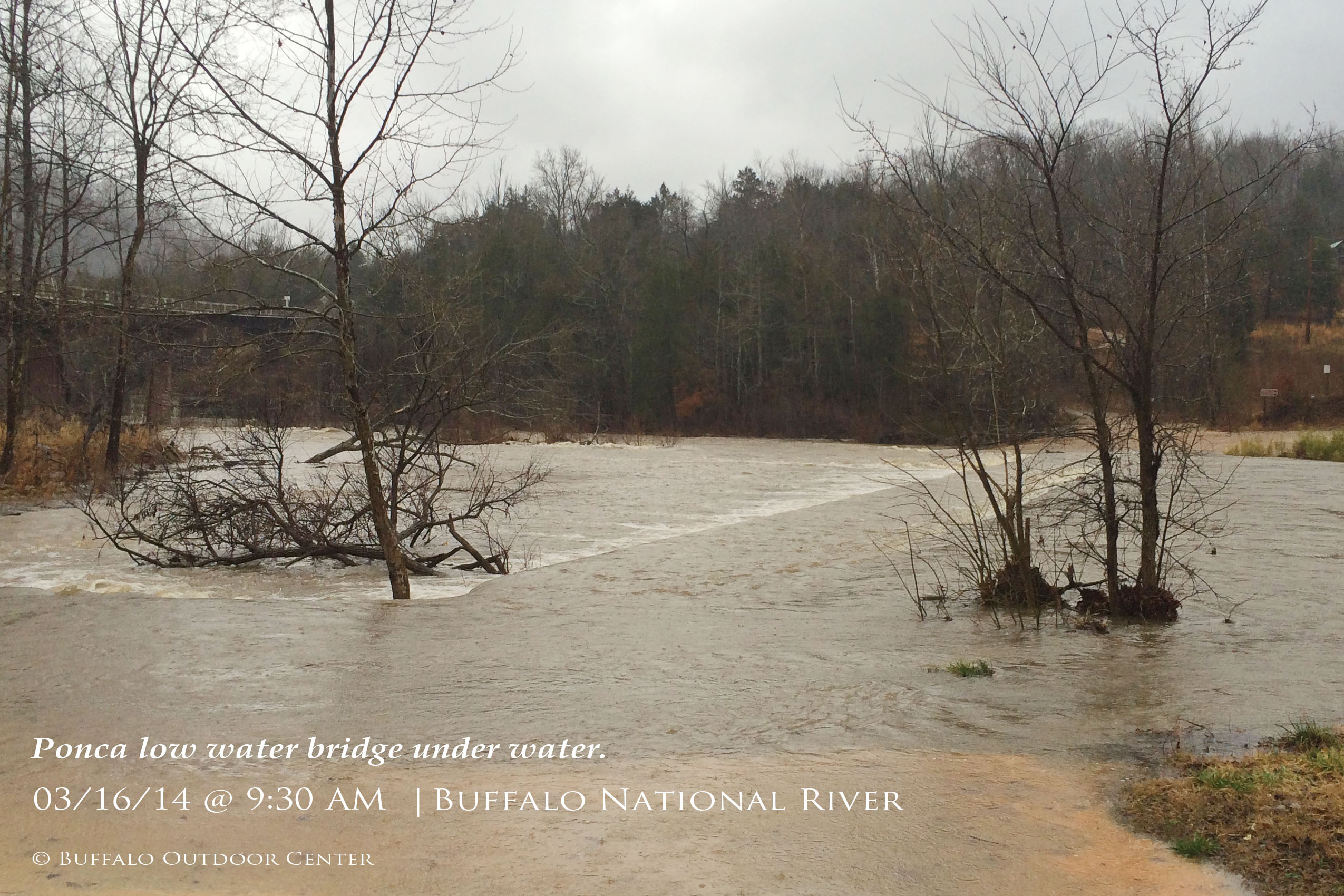 New Rainfall Has Upper Buffalo River Ready for Spring Break