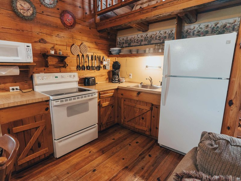 Songbird Cabin Kitchen