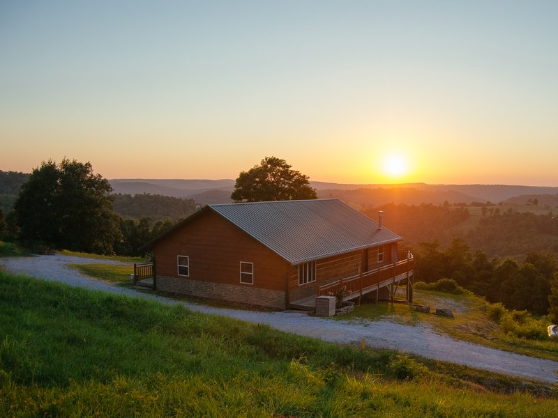 Mountain Sunset Cabin Buffalo National River Cabins And Canoeing In Beautiful Ponca Arkansas