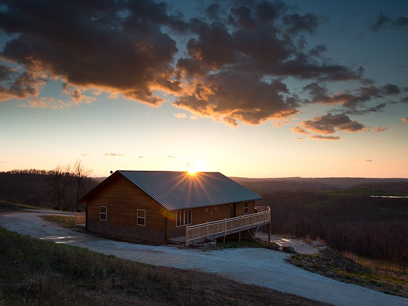 Mountain Sunset Cabin Buffalo National River Cabins And