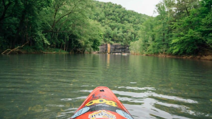Experience the finest river trip in Arkansas on the Ponca to Kyle's Landing section of the Buffalo National River.