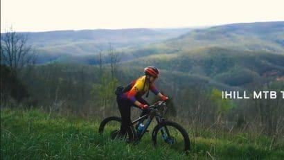 Biker on BOC Ponca MTB Trail