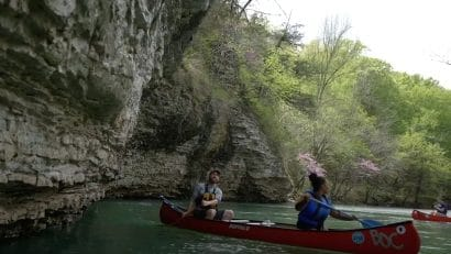 Floaters on Buffalo River