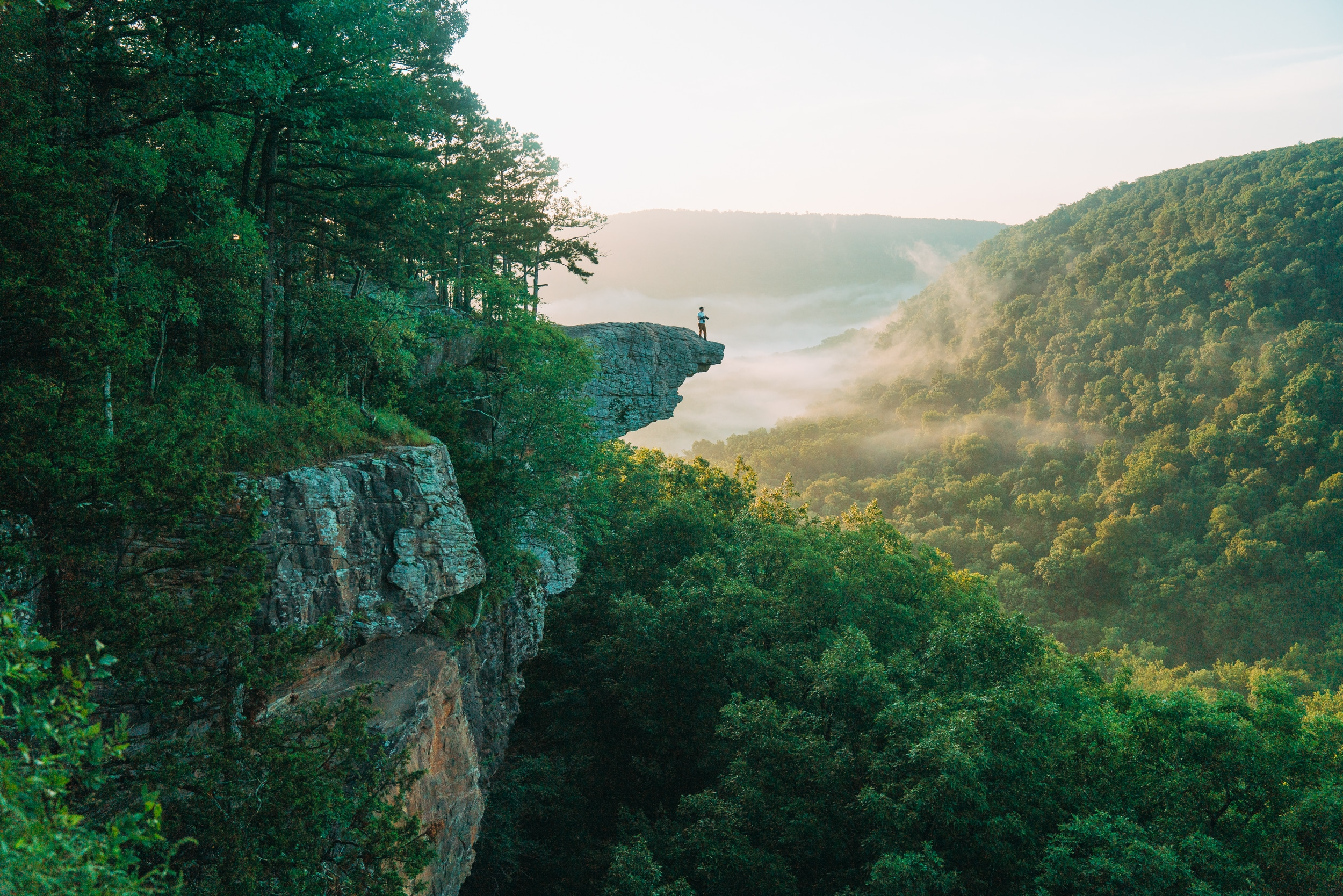 Hike out to Whitaker Point in AZ