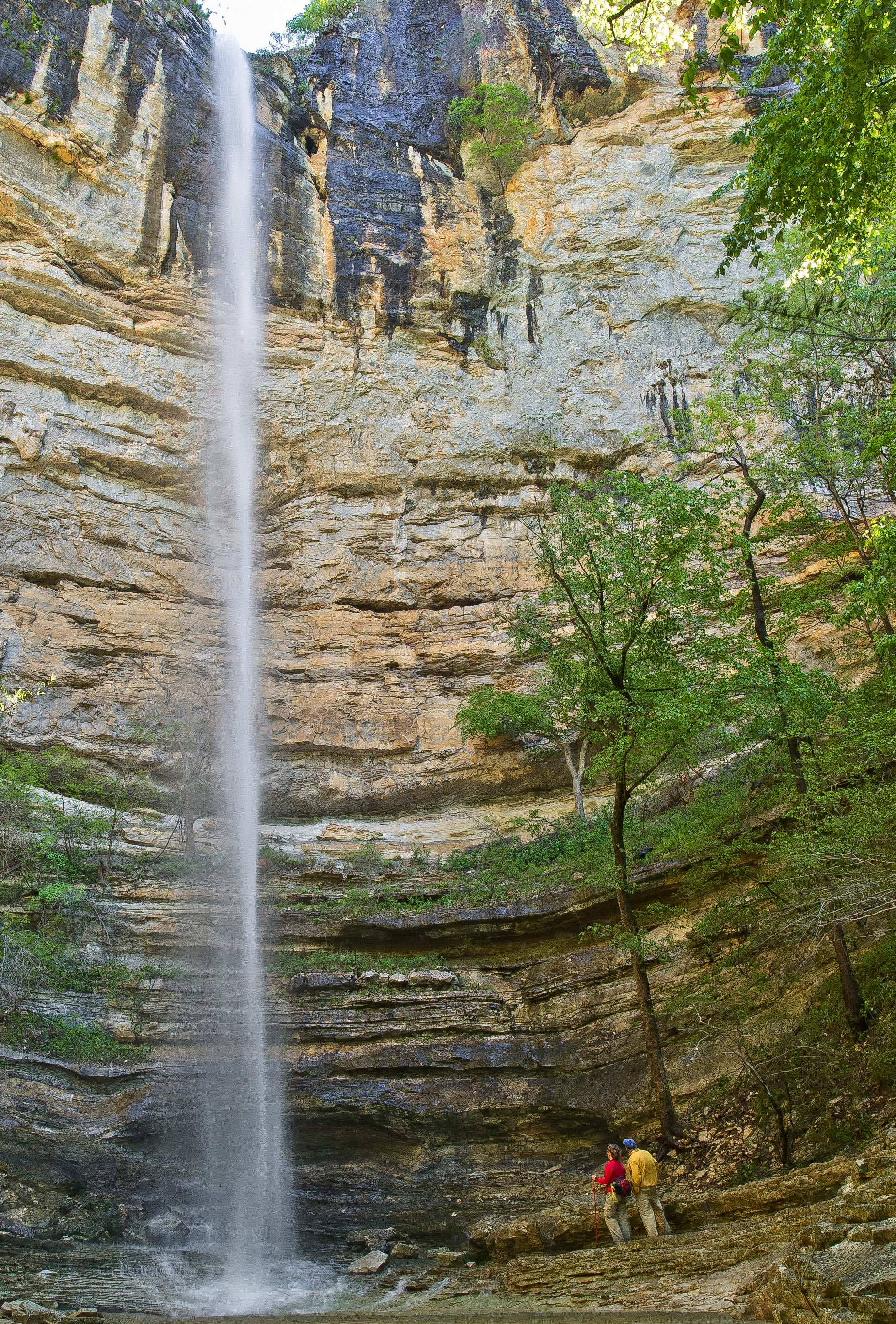 Hemmed-In Hollow Waterfall