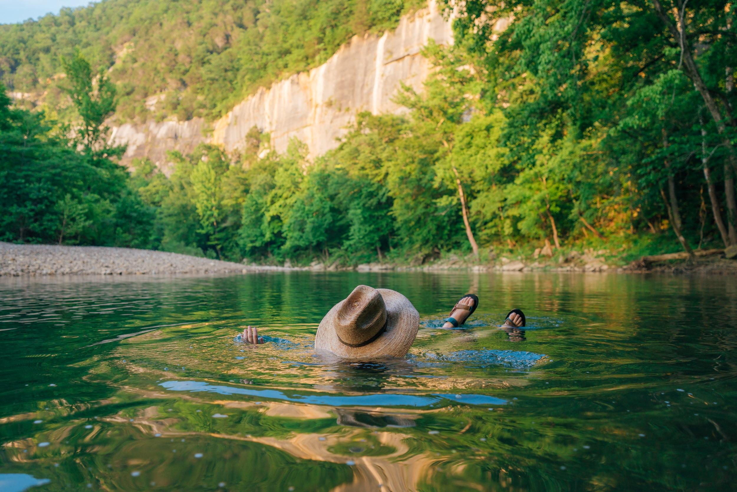 Swimming hole at Steel Creek